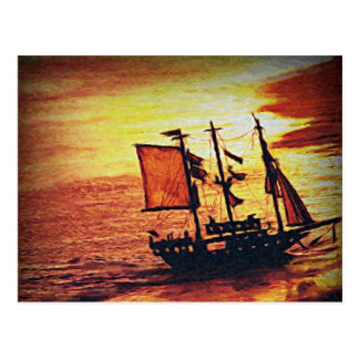 Morning Sea Postcard