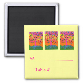 Morning Service OR Evening Affair PLACECARD Magnet