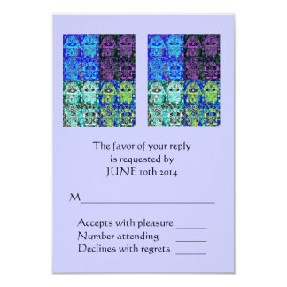Morning Service OR Evening Affair 'Reply' Card