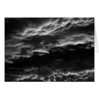 Morning Skies in Monochrome Card
