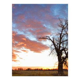 Morning Sky Letterhead Template