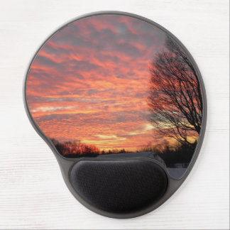 Morning Sky On Fire Gel Mouse Pad