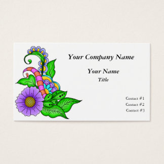 Morning Song Business Card