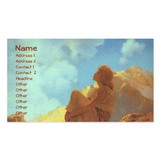 Morning (Spring), Maxfield Parrish Fine Art Business Card
