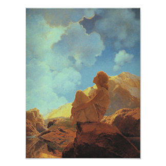 Morning (Spring), Maxfield Parrish Fine Art Poster