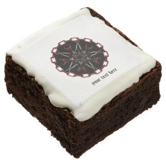 Morning Star Gothic Factal Art Brownie