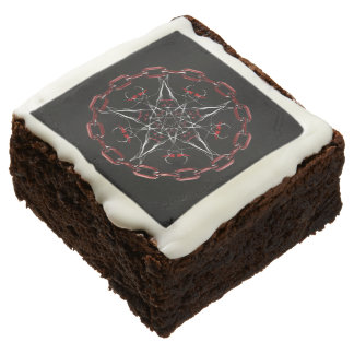 Morning Star Gothic Factal Art Chocolate Brownie