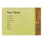 MORNING STAR , MONOGRAM LARGE BUSINESS CARDS (Pack OF 100)