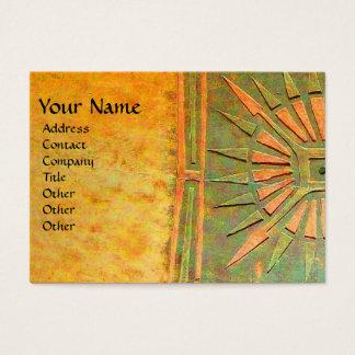 MORNING STAR , MONOGRAM BUSINESS CARD
