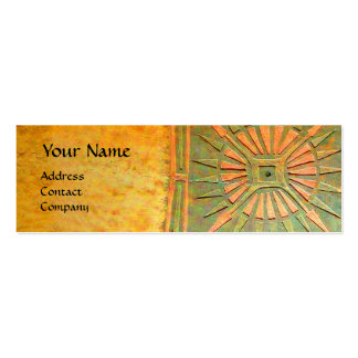 MORNING STAR , MONOGRAM Double-Sided MINI BUSINESS CARDS (Pack OF 20)
