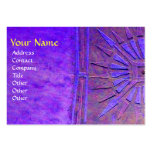 MORNING STAR MONOGRAM LARGE BUSINESS CARDS (Pack OF 100)