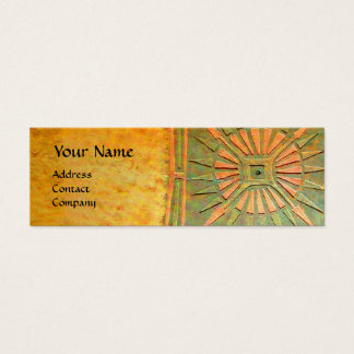 MORNING STAR , MONOGRAM MINI BUSINESS CARD