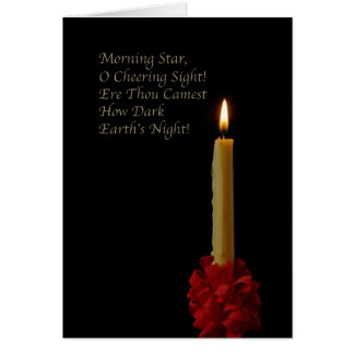 Morning Star, Oh Cheering Sight Card