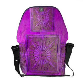 MORNING STAR, Purple, Violet Commuter Bags