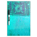 MORNING STAR  Teal Blue Dry-Erase Board