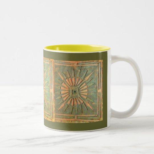 MORNING STAR Two-Tone COFFEE MUG
