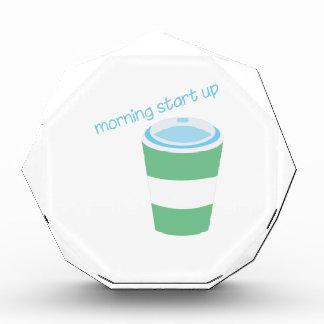 Morning Start Up Acrylic Award