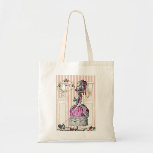 Morning stroll down the Champs-Élysées Tote Bags