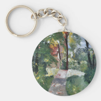 Morning sun by Lesser Ury Key Chains