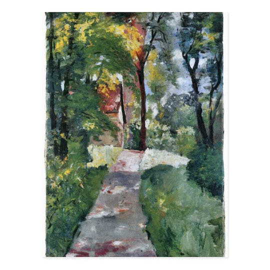 Morning sun by Lesser Ury Postcard