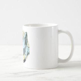 Morning sun whale 2 coffee mug