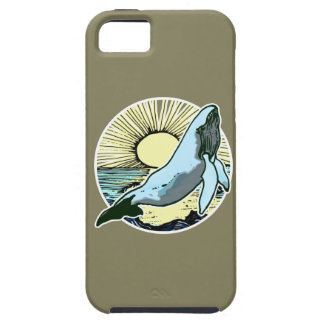 Morning sun whale 2 iPhone SE/5/5s case
