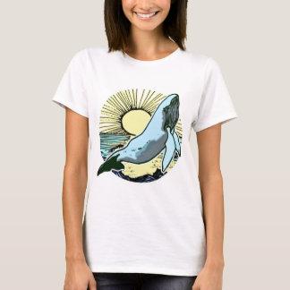 Morning sun whale 2 T-Shirt