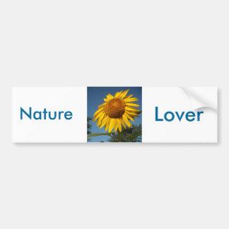 Morning Sunflower Bumper Sticker