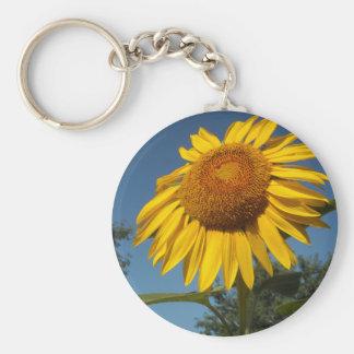 Morning Sunflower Keychain