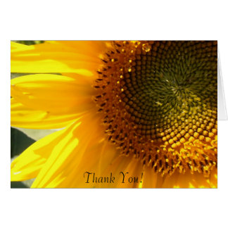 Morning Sunflower Note Card