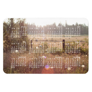 Morning Sunlight; 2013 Calendar Magnet
