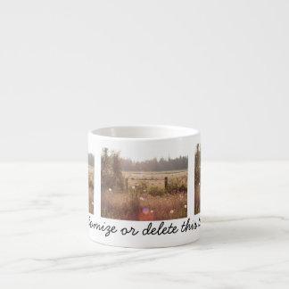 Morning Sunlight; Customizable Espresso Cup