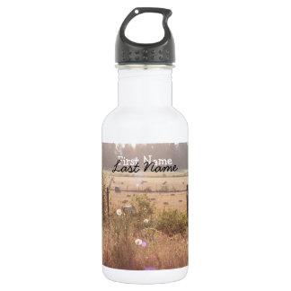 Morning Sunlight; Customizable Stainless Steel Water Bottle