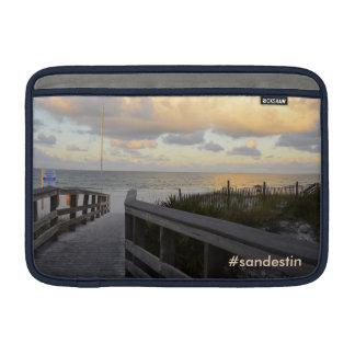 Morning Sunrise Beach Walk on SanDestin, Florida. MacBook Sleeve