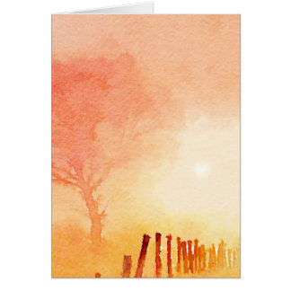 Morning Sunrise Card