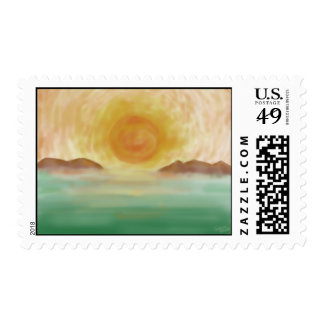 Morning Sunrise Stamps