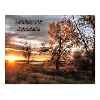 MORNING SUNRISE POST CARD