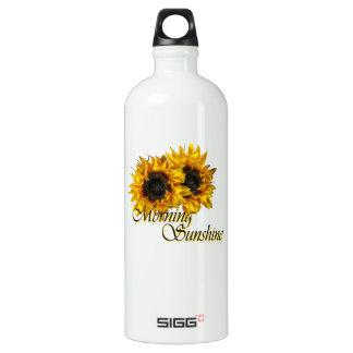 Morning sunshine aluminum water bottle