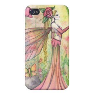 Morning Sunshine Flower Fairy Art Fantasy iPhone 4/4S Case