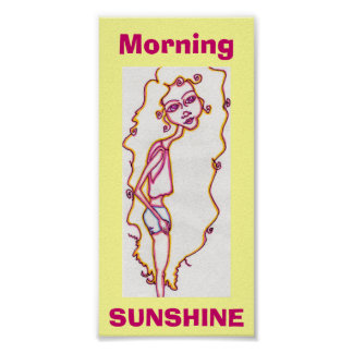 Morning Sunshine print