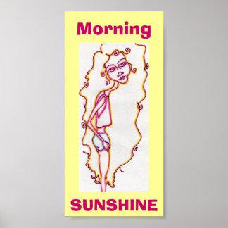 Morning Sunshine print