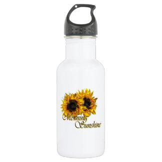 Morning sunshine stainless steel water bottle