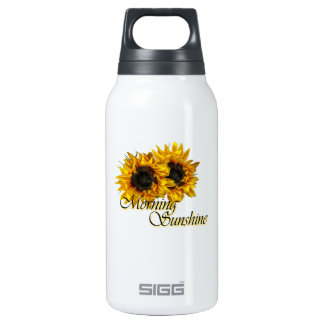 Morning sunshine thermos water bottle