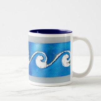 Morning Surf Two-Tone Coffee Mug