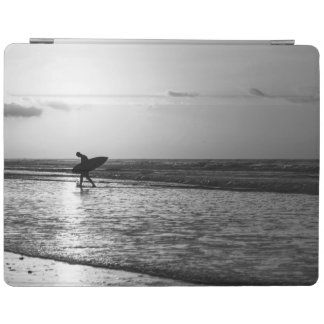 Morning Surfer Grayscale iPad Smart Cover