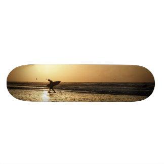 Morning Surfer Skateboard Deck