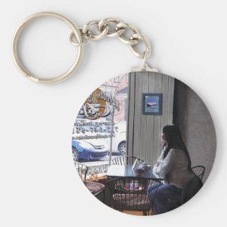 """Morning Tea"" Keychain"