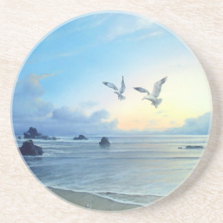 Morning Tides Beach Theme Coasters