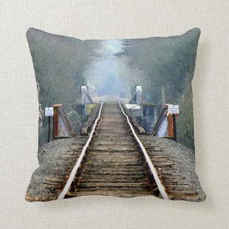 Morning Tracks Pillow