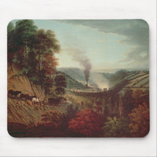 Morning view of Coalbrookdale, 1777 Mousepad